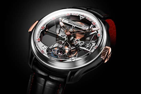Franc Vila FVF Superligero Skeleton Tourbillon Watch